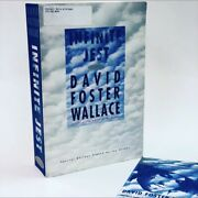 David Foster Wallace • Infinite Jest • Signed Galley W/ Rare Author Bio Sheet