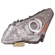 In2502140 New Driver Side Headlight Assembly