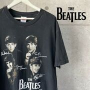 Vintage The Beatles Ban T Band T-shirt From Japan Size L