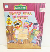 Whitman 1976 Sesame Street Paper Doll Players Book Unused Uncut Nos The Muppets