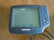 Humminbird Wide Vision Fish/depth Finder Head Unit Only-powers On/light Works