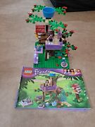 Lego Friends Olivia's Tree House Retired Set 3065 100 Complete W/ Manual No Box