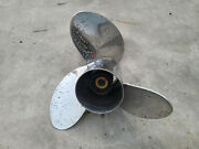 15 1/2 X 17p Yamaha Saltwater Series Ii 2 Propeller Stainless 17 Pitch 17-t
