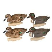 Flambeau 8015suv Storm Front Classic Green Winged Teal Duck Decoy 6pk