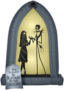 Halloween Inflatable The Nightmare Before Christmas Jack And Sally Archway 7and039