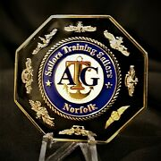 Atg Afloat Training Group Norfolk Va Navy Cpo Chief Military Challenge Coin