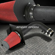 For 97-04 F150/expedition V8 Wrinkle Finish Air Intake Aluminum Pipe+heat Shield