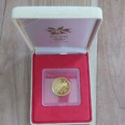 Nagano Olympic Winter Games Commemorative 10 000 Yen Gold Coin Proof Set