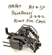Ho / Rivarossi / A.t And S.f./ 2-8-8-2 / Locomotive 2197 / Front End Cage / Parts