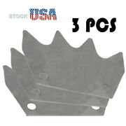 3pcs Manure Spreader Upper Paddle Fit For New Holland 195 520 Replace