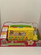 Cocomelon Musical Learning Bus. Brand New
