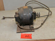 Early Ge General Electric 1/6 Hp Motor 1725 Rpm Lathe Fan Collectible Part M9
