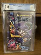The Adventures Of Sly Cooper 9.8 Cgc Graded Comic Book Rare And Highly Requested