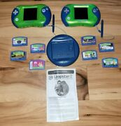 Lot Of 2 Leapfrog Leapster 2 And 8 Games Disney Dinosaurs Tangled Toy Story