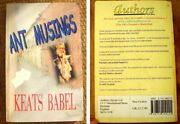 Keats Babel - Ant Musings - [adam Ant] - Authors Online - 2001 First Printing