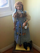 2005 Nancy Wiley Dorothy Wizard Of Oz Porcelain Doll Signed And - L.a. P-u