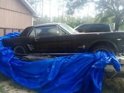 1966 Ford Mustang 1966 Ford Mustang Coupe Black Rwd Manual