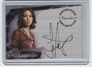 Andromeda Reign Of The Commonwealth Rotc Lexa Doig A3 Autograph Insert Card