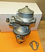 1949 To 1951early Lincoln Double Action Rebuilt Fuel Pump For Modern Fuels