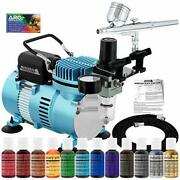 Master Airbrush Cake Decorating Airbrushing System Kit With A Gravity Feed Airbr