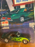 Hot Wheels Collectibles 4 Decades Of Hot Rod 68 Camaro -series 1 Limited Edition