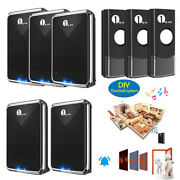 1byone 1000ft Wireless Battery Operated Door Bell Cordless House Door Chime Kits