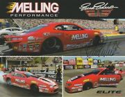 2019 Erica Enders Signed Melling 1st Version Chevy Camaro Ps Nhra Hero Card