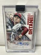 Shohei Ohtani Limited To 15 Autographed Cards 17th Number Signed Topps