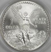 1990 Mexican Libertad 1oz Bu In Capsule Bright And Nice - Bulk Pricing