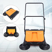 15l 26 Hand Push Carpet Sweeper Non-electric Easy Manual Sweeping Sweeper