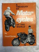 A Treasury Of Motorcycles Of The World Hbdj 1965 Floyd Clymer Vintage Book