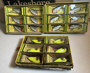 Vintage Whopper Stopper Bayou Boogie Fishing Lures In Dealer Boxes