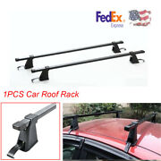 1pcs 48and039and039 Car/ Truck / Suv Universal Roof Rack Cargo Side Rail Bicycle Rack -usa
