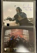 Star Wars Mandarian The Book Of Bovet Fetted Signs 2 Pieces Set