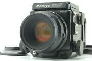 【n Mint+3】 Mamiya Rz67 Pro Ii W/ Sekor Z 110mm F/2.8 W 120 Film Back From Japan