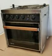Force 10 Marine 4-burner Gas Gimbal Galley Range And Oven For Boat Yacht Rv