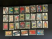 1974 Topps Wacky Packages 10th Series 10 Complete Set 29/30 No Pupsi Nm