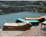 Outdoor Inflatable Sofa Bed Portable Camping Air Mattress Easy To Carry