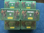 Fortnite Mega Collectors Tins Inlcudes 6 Boosterpacks + 1 Epic Card I New Sealed