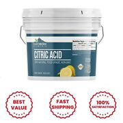 Citric Acid 8 Lbs Food Safe Preservative Non-gmo Resealable Bucket