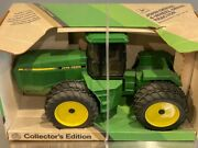 John Deere 8760 4-wheel Drive Collectible Tractor 1/16 Scale Replica Toy