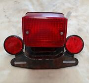Yamaha Dt175 Mx Rear Taillight Complete 2g3-84551-70-33 Very Good Condition