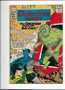 Detective 291 F+ 6.5 5/61 Batman In Creature From The Bat Cave