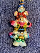 New With Tag Christopher Radko Ornaments Vintage Snow Pile Up Gem