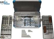 Medium Orthopedic System 2.7mm, 3.5mm, And 4.0mm Instruments, Implants With Case