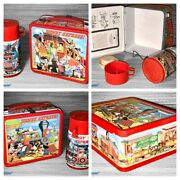 ++ 1979 Walt Disney Express Lunchbox And Thermos Set Nos Ex/nmint ++