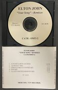 Elton John Your Song 2011 Us Promo Only Remixes Cd Minty No Commercial Release