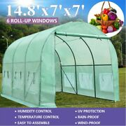 Portable Heavydutylarger Green House Walk-in Hot Greenhouse Garden Plant Outdoor