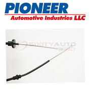 Pioneer Clutch Cable For 1981-1987 Plymouth Reliant 2.2l 2.5l L4 - Jt
