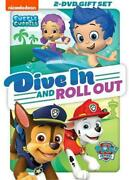 Paw Patrol/bubble Guppies Dive In And Roll Out New Dvd